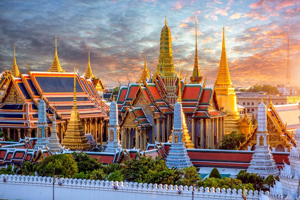 Thái Lan được mệnh danh là xứ sở của những ngôi chùa