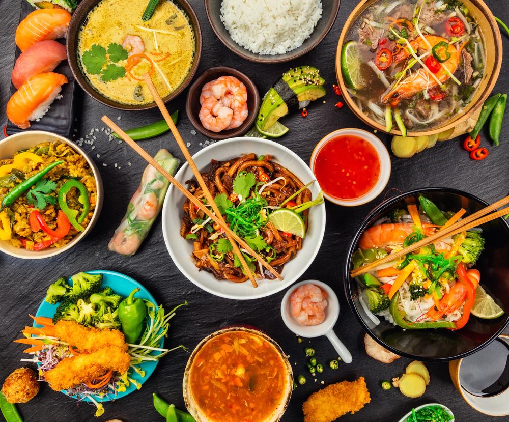 Thưởng thức ẩm thực đường phố của Thái Lan